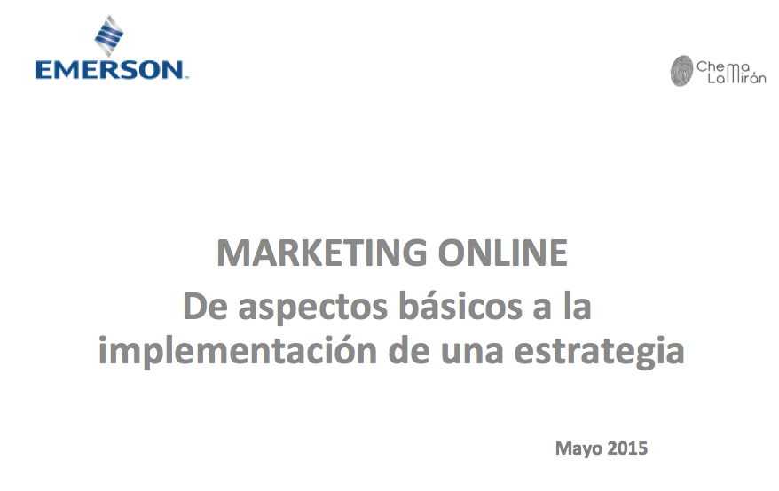 Curso marketing online para empresa