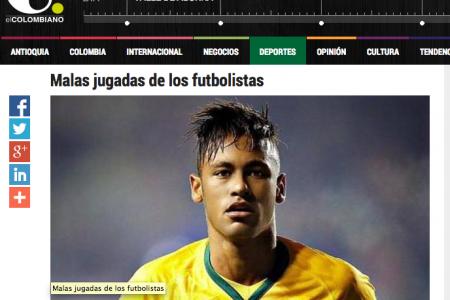 """Colaboración en el diario """"El Colombiano"""". Redes sociales para deportistas"""