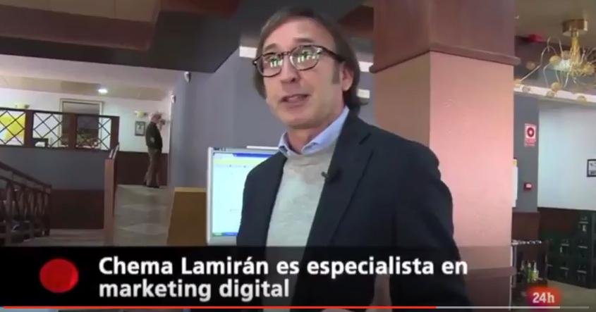 chema lamiran en RTVE