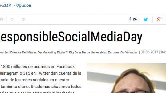 Responsible Siocial Media Day