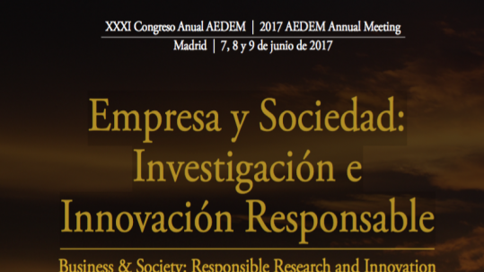 Congreso AEDEM