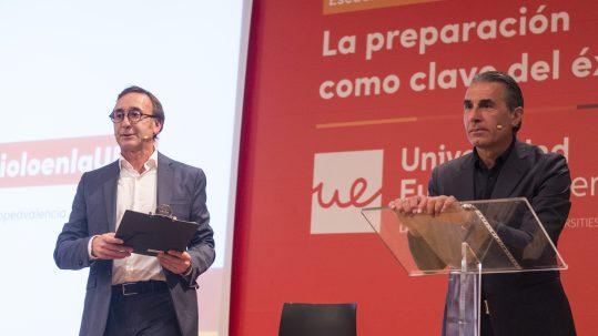 Chema Lamiran  y Sergio Scariolo