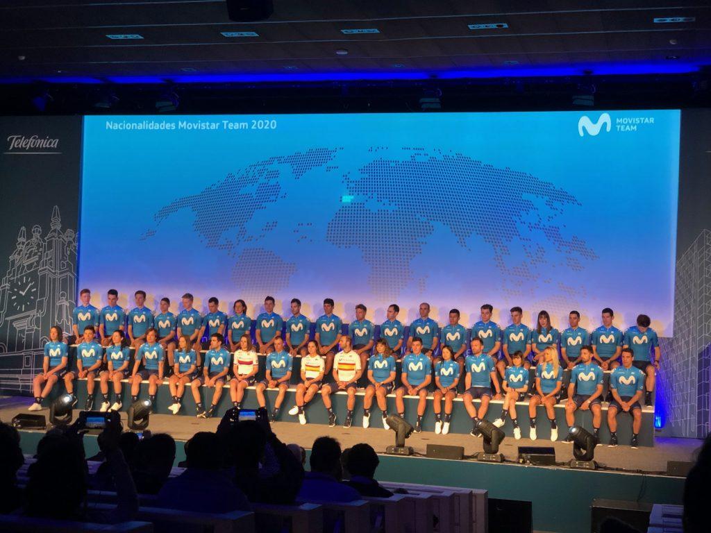 Presentación Movistar Team